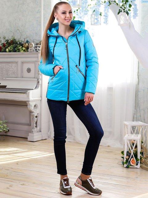 Куртка бирюзовая Favoritti 4176358