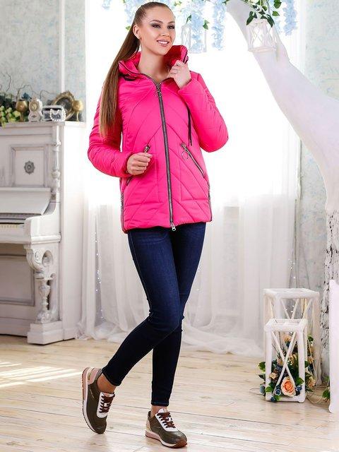 Куртка малинового цвета Favoritti 4176359