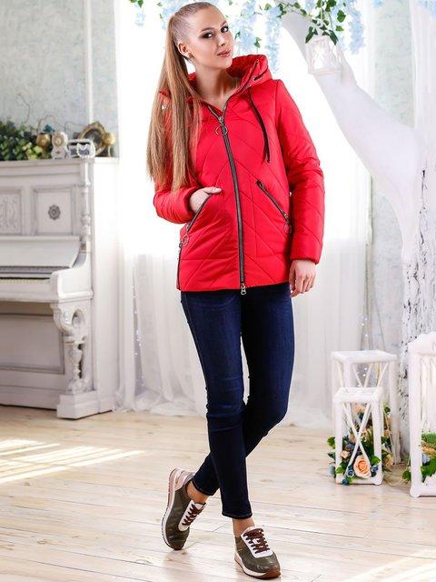 Куртка красная Favoritti 4176360