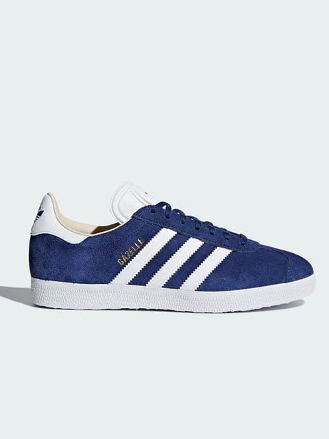 Кроссовки синие Adidas 4151670