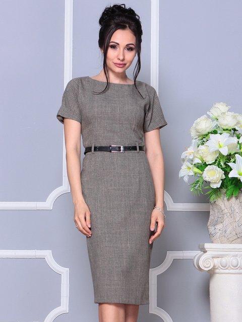Сукня кольору бежевий хакі Dioni 4178059
