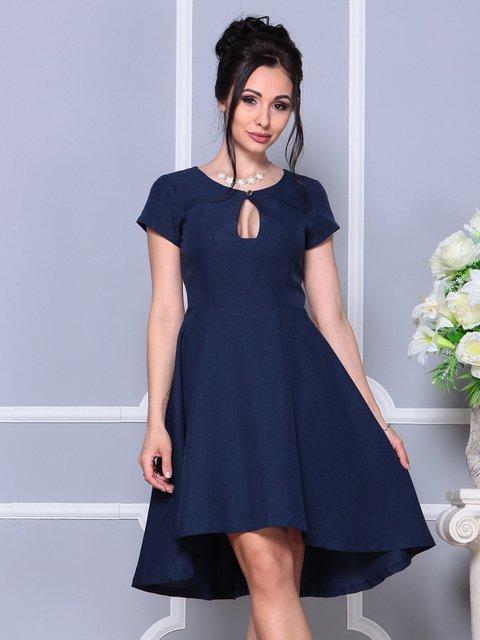 Сукня темно-синя Laura Bettini 4178083