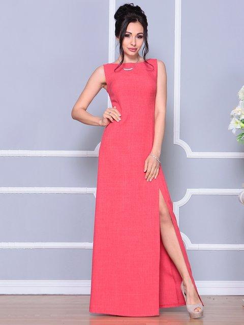 Платье цвета красный коралл Laura Bettini 4178097