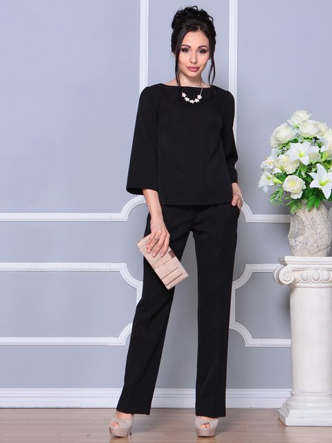 Костюм: блуза и брюки Rebecca Tatti 4178114