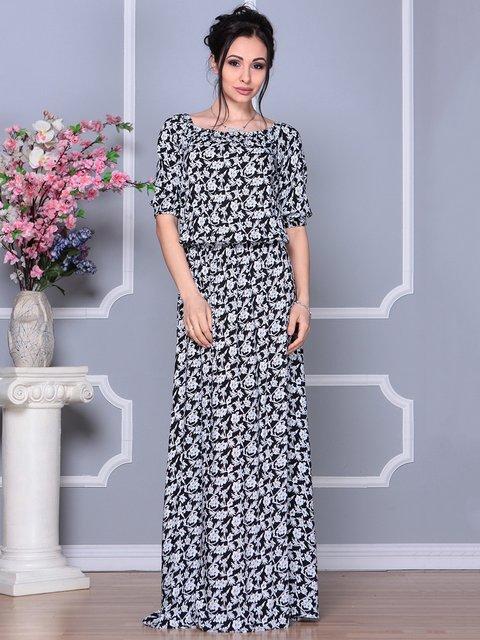 Сукня в квітковий принт Laura Bettini 4178117