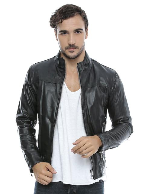 Куртка черная Mangotti 4180969