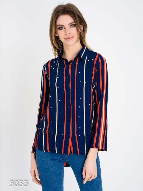 Рубашка в полоску Magnet 4137768