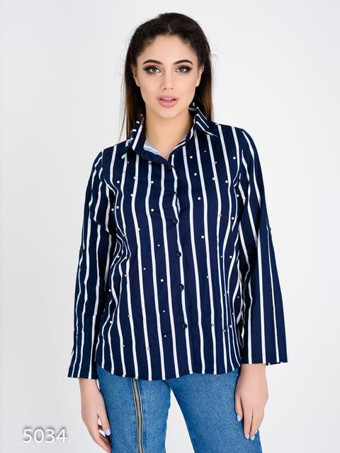 Рубашка в полоску Magnet 4137771