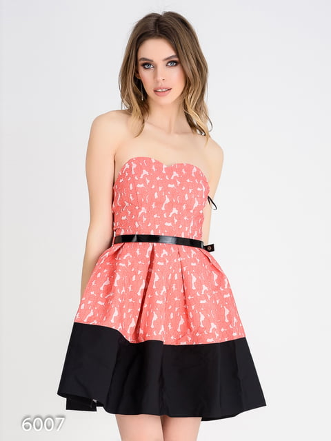 Платье черно-розовое Magnet 4184893