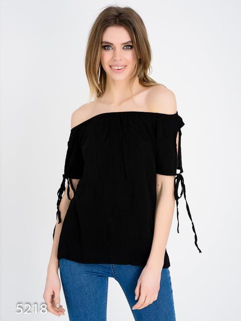 Блуза чорна Magnet 4185010