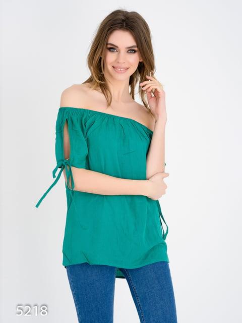 Блуза зелена Magnet 4185011