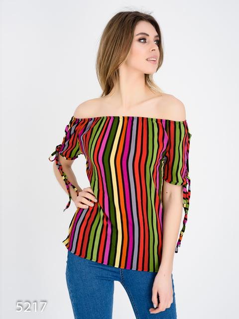 Блуза в полоску Magnet 4185027