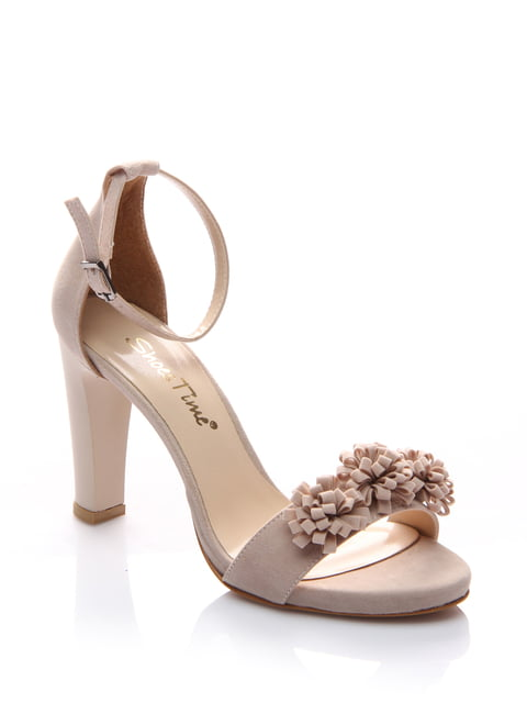 Босоніжки бежеві Shoes Time 4185059