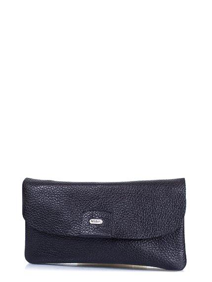 Клатч-гаманець чорний DESISAN 4178318