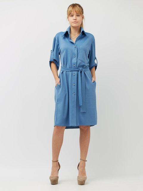 Платье голубое BesTiA 4186874