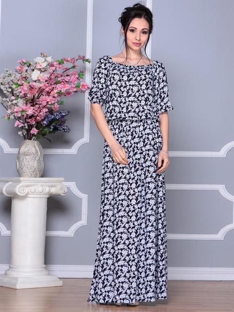 Платье в цветочный принт Laura Bettini 4186791