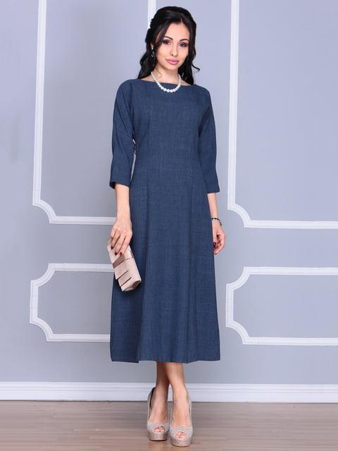 Сукня темно-синя Laura Bettini 4186806