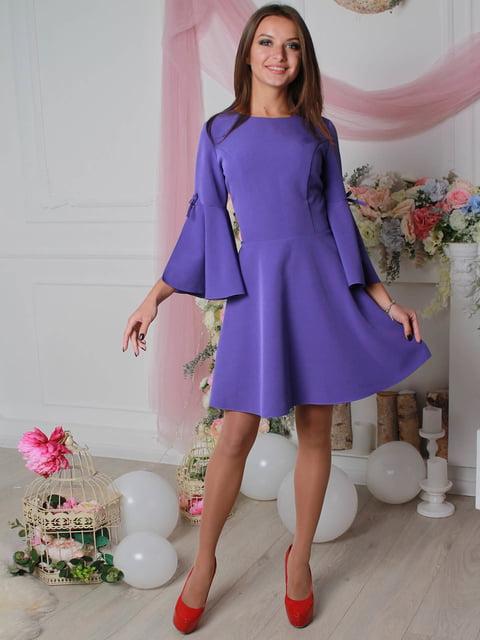 Платье фиолетовое VSV 4190369