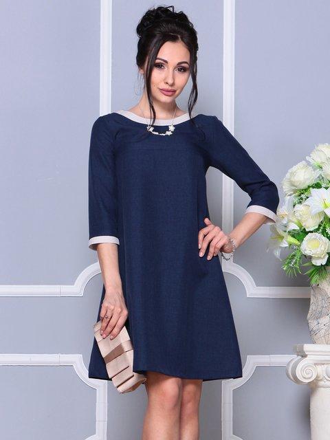 Сукня темно-синя Laura Bettini 4191516
