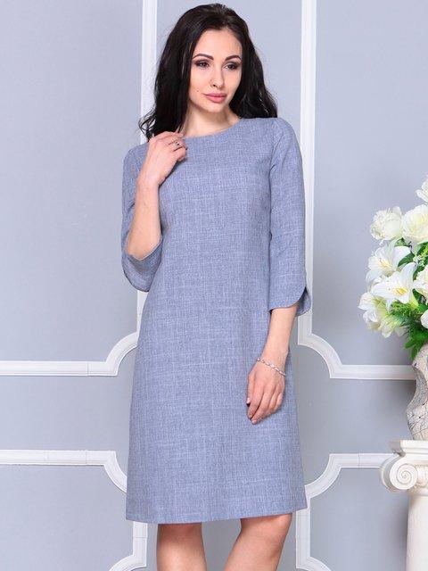 Платье цвета фиолетовой дымки Laura Bettini 4191521