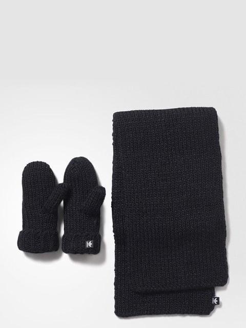Комплект: шарф и рукавицы Adidas 3793921