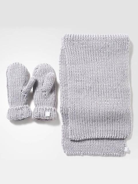 Комплект: шарф и рукавицы Adidas 4103970