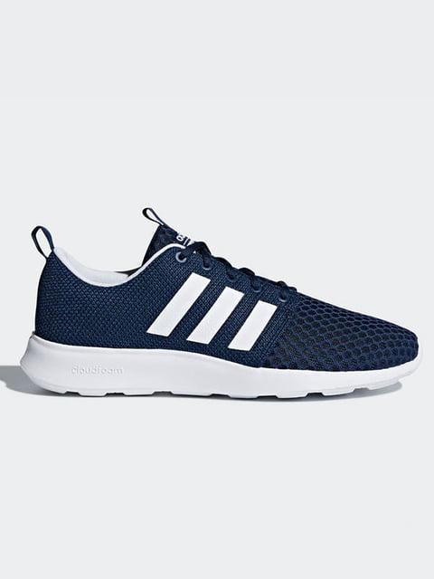 Кроссовки синие Adidas 4104055
