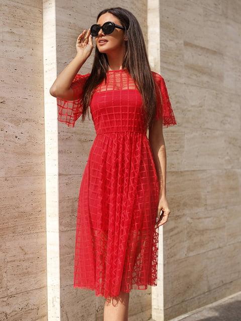 Сукня червона Gepur 4199410