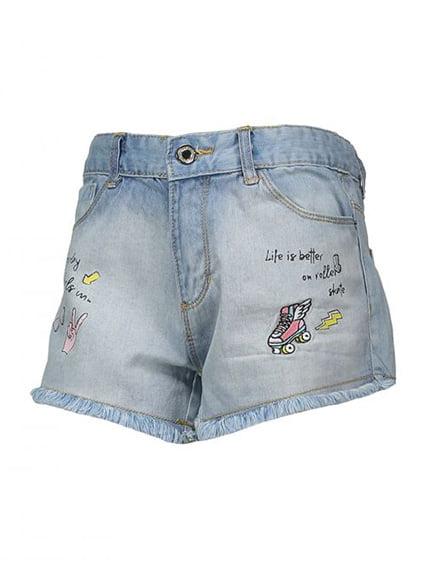 Шорты голубые джинсовые Piazza Italia 4136496