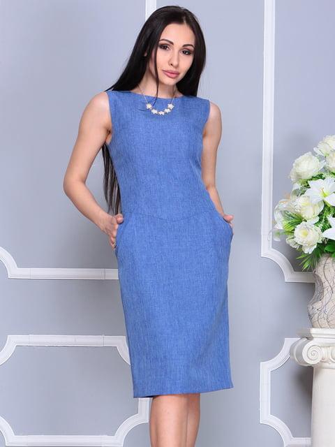 Платье синее Laura Bettini 4201129