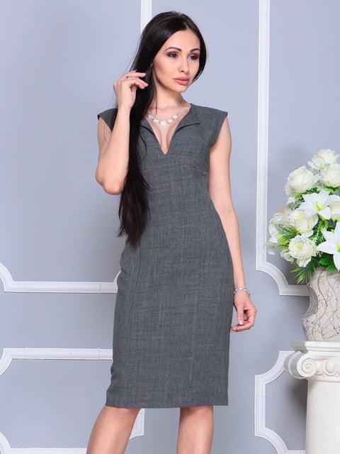 Сукня-сарафан графітового кольору Dioni 4201143