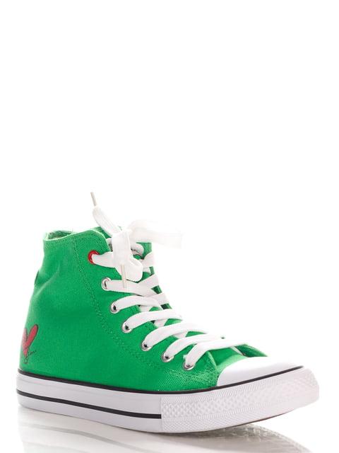 Кеды зеленые Sweet Years 4194999