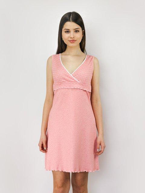 Рубашка ночная розовая PERRITO 4093231