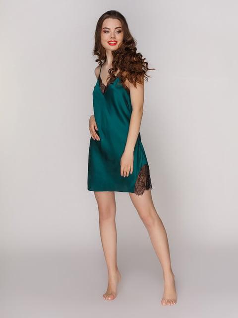 Сорочка смарагдового кольору Lapin 4201182