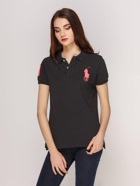 Футболка-поло черная Polo by Ralph Lauren 4003005