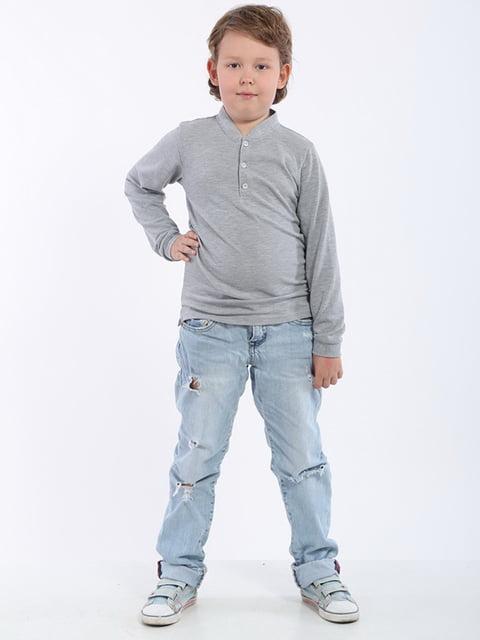 Джемпер сірий ДиМакс 4145403