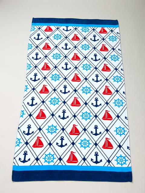 Полотенце пляжное велюровое (75х150 см) LOTUS 4209612