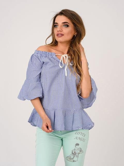 Блуза синяя Magnet 4184460