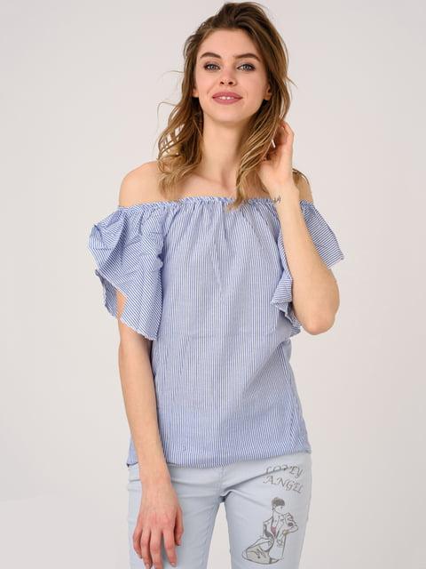 Блуза синяя Magnet 4184474