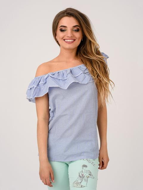 Блуза синяя Magnet 4184484