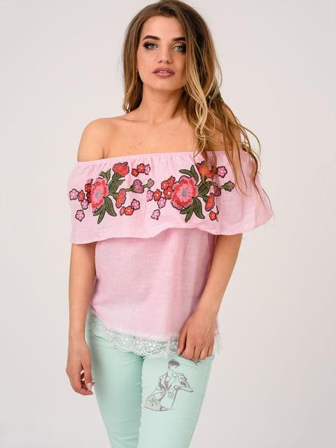 Блуза розовая Magnet 4214481
