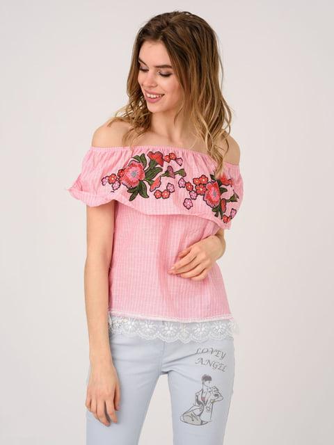 Блуза розовая Magnet 4214506