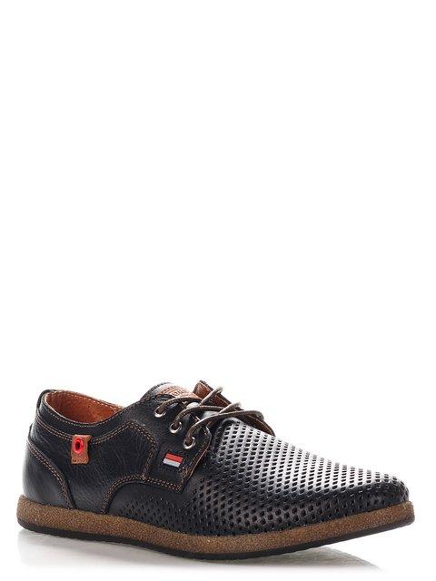 Туфлі чорні Konors 4214069