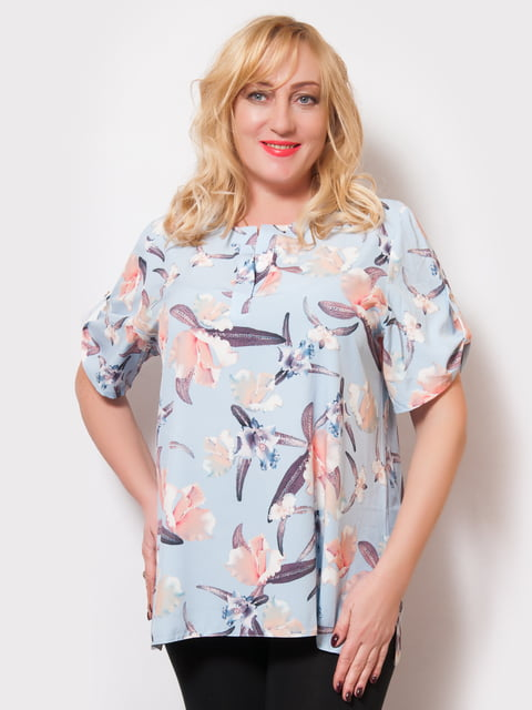 Блуза в цветочный принт LibeAmore 4220197