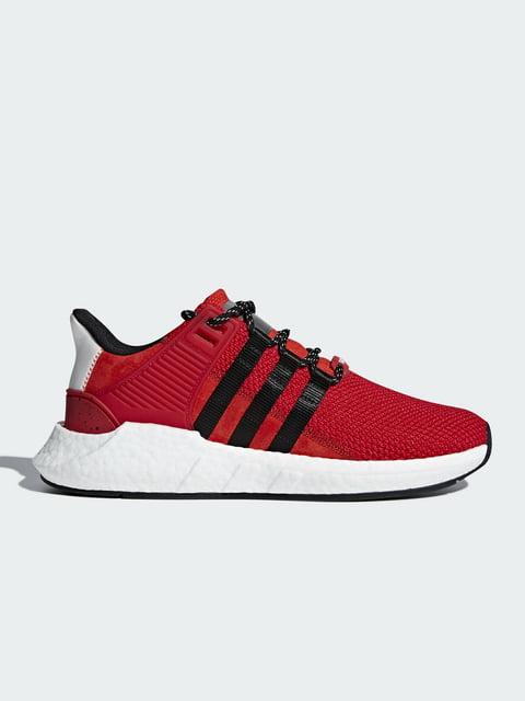 Кроссовки красные Adidas 4221424