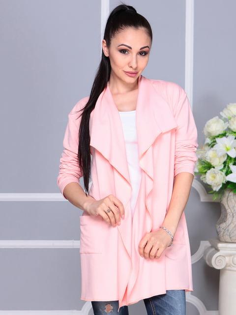Кардиган персикового кольору Laura Bettini 4222446