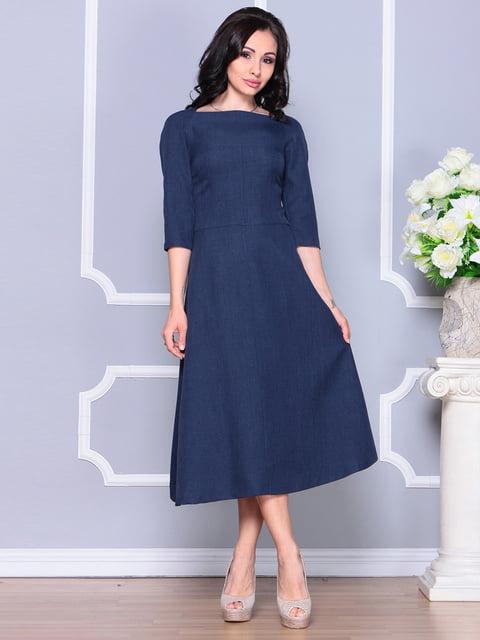 Сукня темно-синя Laura Bettini 4222464
