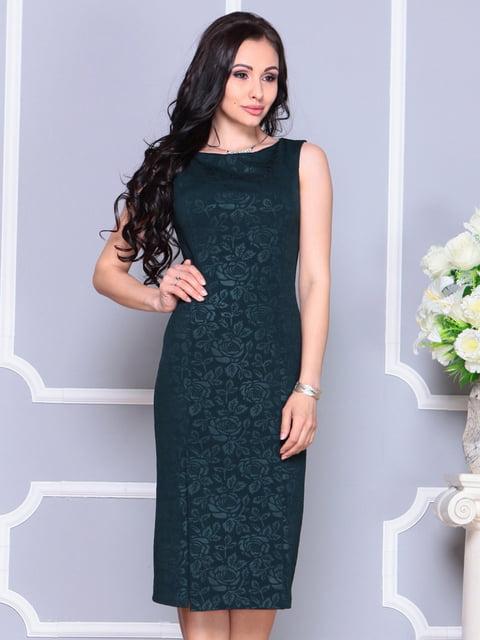 Платье темно-изумрудного цвета Laura Bettini 4222471