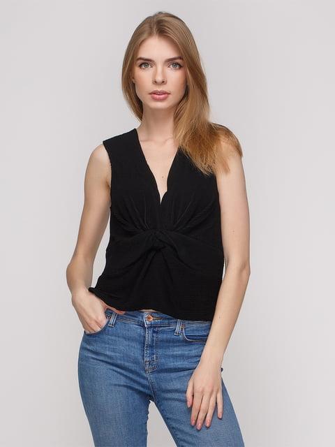 Топ чорний Zara 2750428