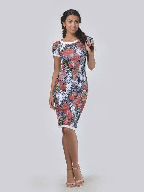 Платье в цветочный принт LILA KASS 4151939